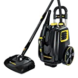 Best Steam Vacuums - McCulloch MC1385 Deluxe Canister Steam System, Black Review