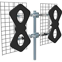 Focus Antennas BEST-6 HD Long Range Multi-Directional Indoor/Outdoor HDTV Antenna - 75 Mile Range