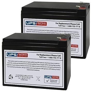 Amazon.com: Batería de repuesto para patinete de 12 V 10 Ah ...