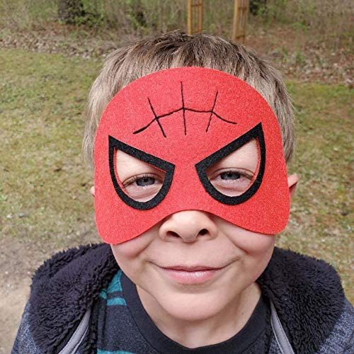 51 VL pNjaL. AC  - RoterSee 50Pcs Superhero Masks Party Favors for