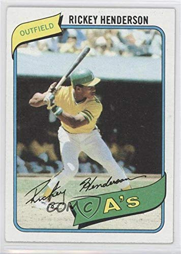 - Rickey Henderson (Baseball Card) 1980 Topps #482