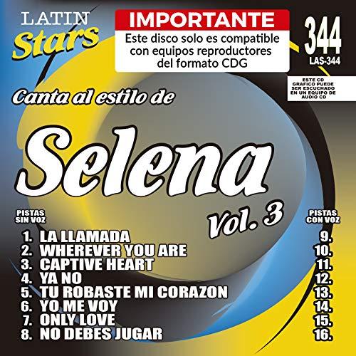 Karaoke: Selena 3 - Latin Stars Karaoke by Selena (2008-10-08)