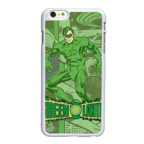 I3K92 Green Lantern Comic T4R7YV coque iPhone 6 Plus de 5,5 pouces cas de couverture de téléphone portable coque blanche XA5PYL9NY