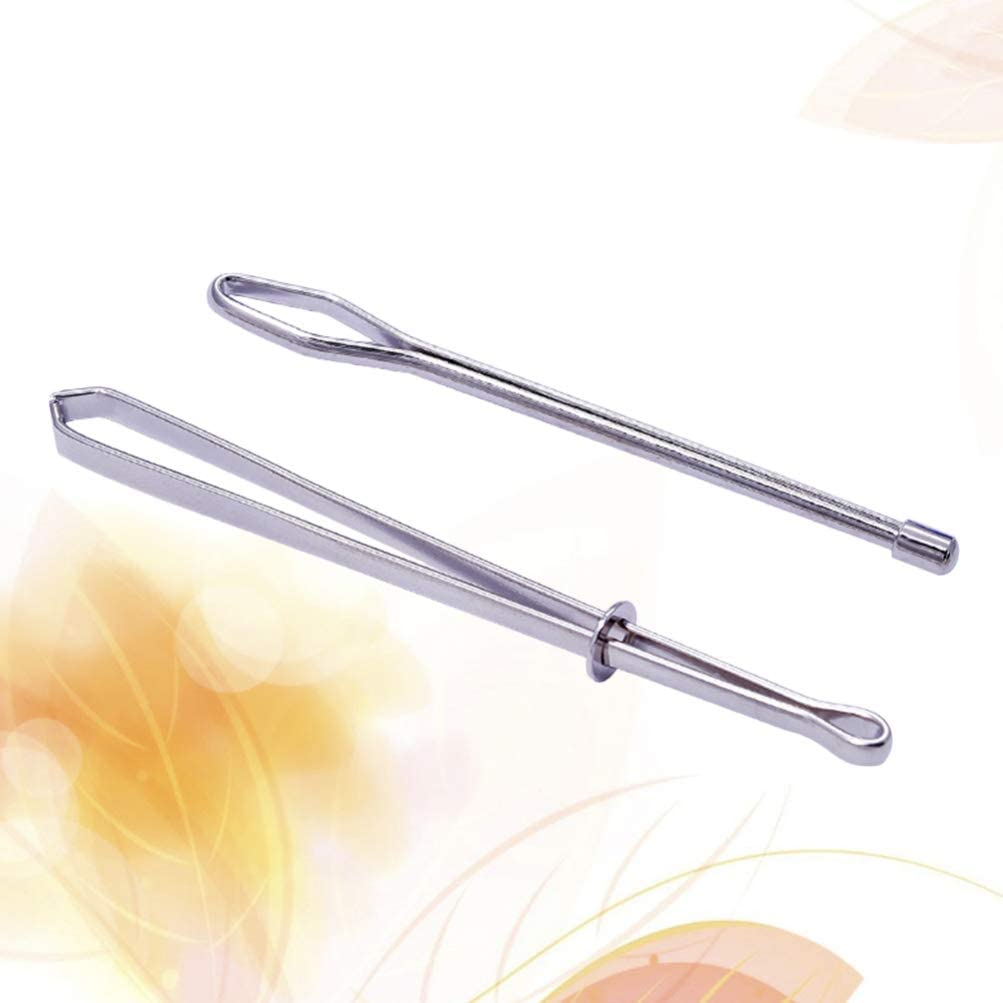 HEALLILY 2pcs Sewing Needle Threader Needle Threading Tool for Home Sewing Embroidery Tool Silver