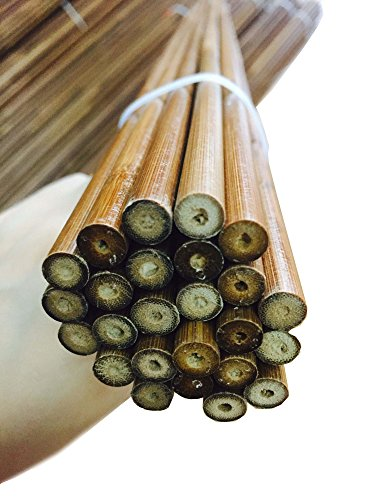 Brown Wood Shaft (12pcs EQUAL WEIGHT Bamboo arrow Shafts 33