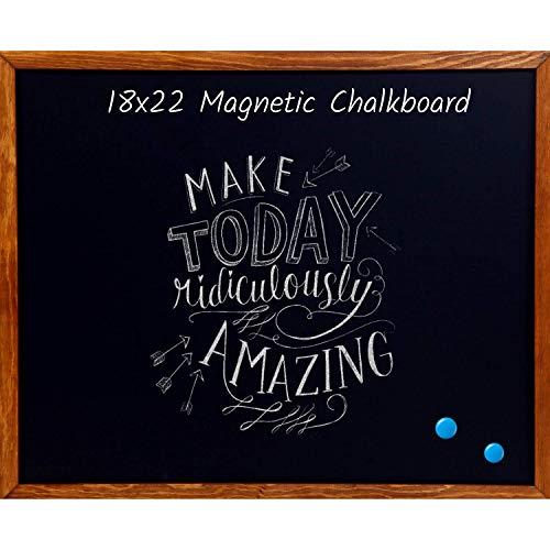 Wood Framed Chalkboard Premium