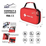Compact First Aid Medical Kit - 121 Piece - Hard