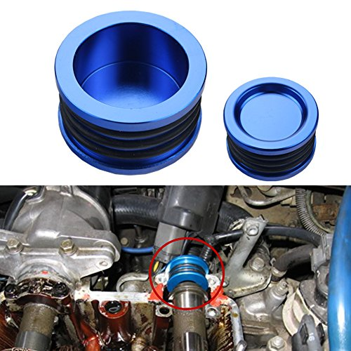 - Dewhel B16 B18 B20 H22 H23 F20 Engine B-SERIES H-SERIES BILLET Triple O ring CAM CAMSHAFT SEAL PLUG Color Blue