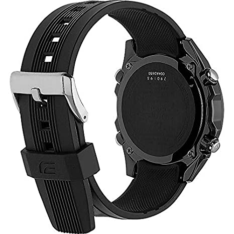 Amazon.com: Casio EQS-500C-1A1ER Mens Edifice Solar Black Watch: Casio: Watches