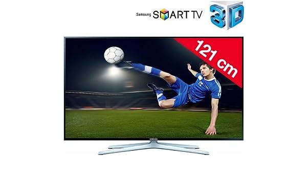 SAMSUNG UE48H6470 - Televisor LED 3D Smart TV + Kit Soporte de Pared Fijo + Cable HDMI 920003: Amazon.es: Electrónica