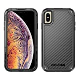 clip for pelican case - Pelican Shield iPhone XS Max Case with Kevlar Brand fibers (Black)