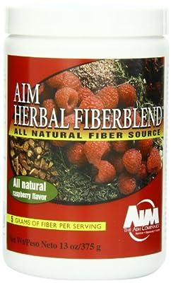 AIM Herbal Fiberblend Raspberry Powder 13 oz.