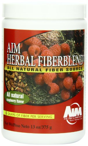 AIM Herbal Fiberblend Raspberry Powder 13 oz.