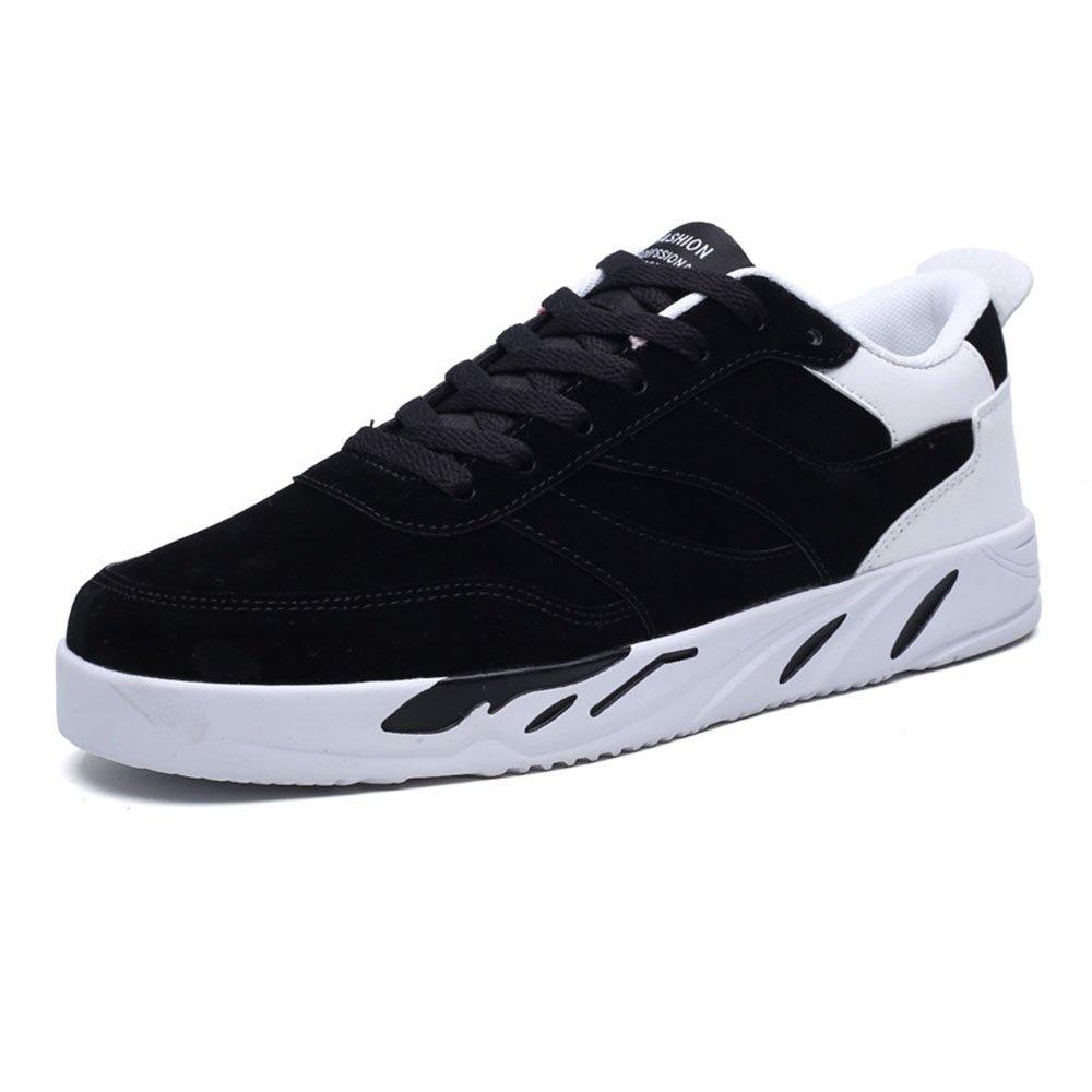 FLYMD Running Shoes Zapatos Deportivos de Primavera y Verano, Zapatos Casuales Transpirables, Zapatos Corrientes para Hombres (24.5-27.0cm) Sneakers for Men (Color : Negro, tamaño : 42 2/3 EU) 42 2/3 EU Negro