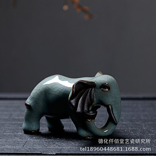 - Simple Living Room Decoration Decoration Home Furnishing Elephant Leisure Tea Pet 9×15.5Cm,Yuanbaoxiang