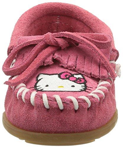 Minnetonka Jenter Hello Kitty Mokasiner - 2605k Varm Rosa