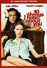 The classic comedy that launched the careers of Academy Award(R) winner Heath Ledger (2008, Best Supporting Actor, THE DARK KNIGHT) and Julia Stiles celebrates its ten-year high school reunion with 10 THINGS I HATE ABOUT YOU: THE 10TH ANNIVER...
