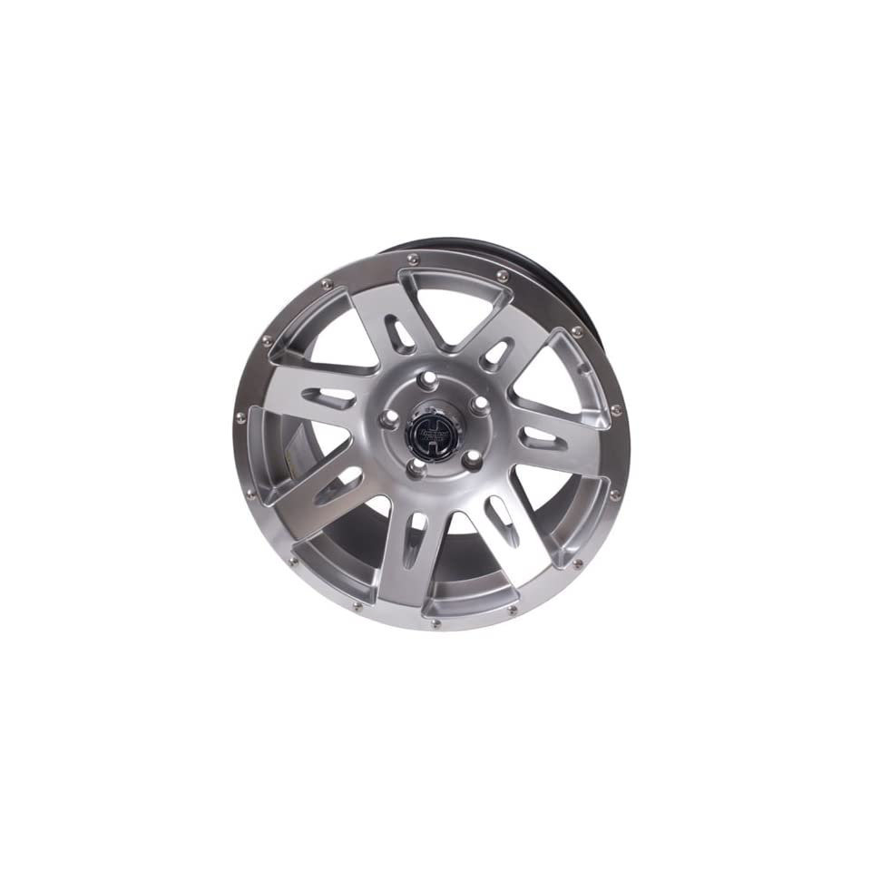 Rugged Ridge XHD 15301.50 Hyper Silver Wheel (17 x 9/5x5)
