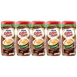 COFFEE-MATE Creamy Chocolate Sugar Free Powder Coffee Creamer 10.2 oz. Canister (Pack of 5)