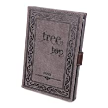 "DURAGADGET Canvas ""Tree Top"" Book Style Cover With Popper Clasp for Kobo Aura / Kobo Glo HD / Kobo Glo / Kobo Touch 2.0 / Kobo Touch"