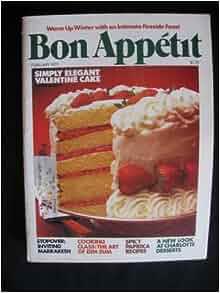 Bon Appetit February 1979 (Vol. 24): Paige Rense: Amazon.com: Books