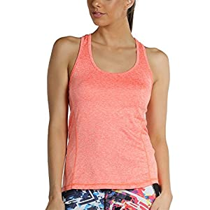 icyzone Workout Tank Tops for Women – Racerback Athletic Yoga Tops, Running Exercise Gym Shirts