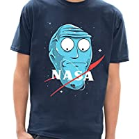 - Camiseta Rick and Morty Nasa - Masculina