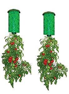 Allstar Innovations Topsy Turvy New & Improved Upside Down Tomato Planter - As Seen On TV