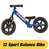 Toys : Strider - 12 Sport Balance Bike, Ages 18 Months to 5 Years, Blue