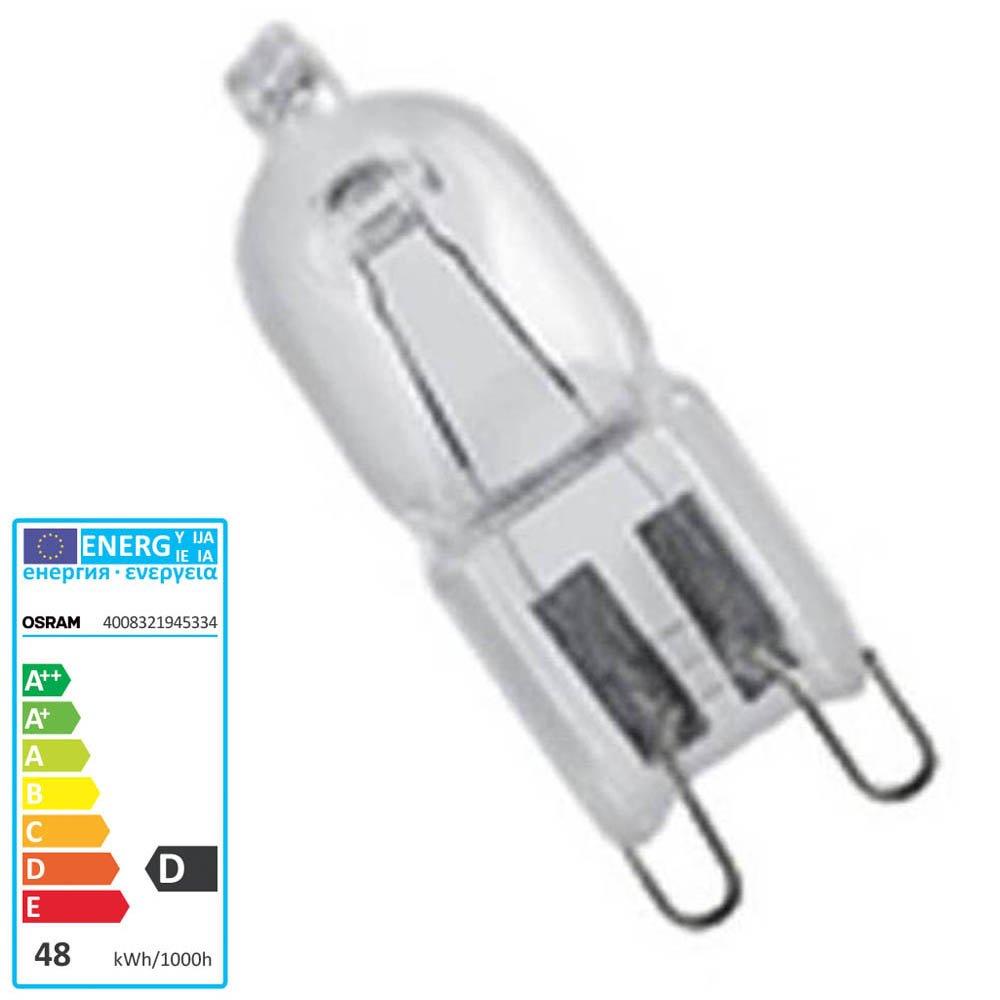 Halogen Lamp Halopin Eco 66733 66748 Pro 48 Watt 230 V G9 Osram
