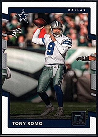 Amazon.com  2017 Donruss  290 Tony Romo Dallas Cowboys Football Card ... 916b47a63