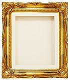 Gold Swept Ornate Deep Box Frame 12x10'' - Choose Mount