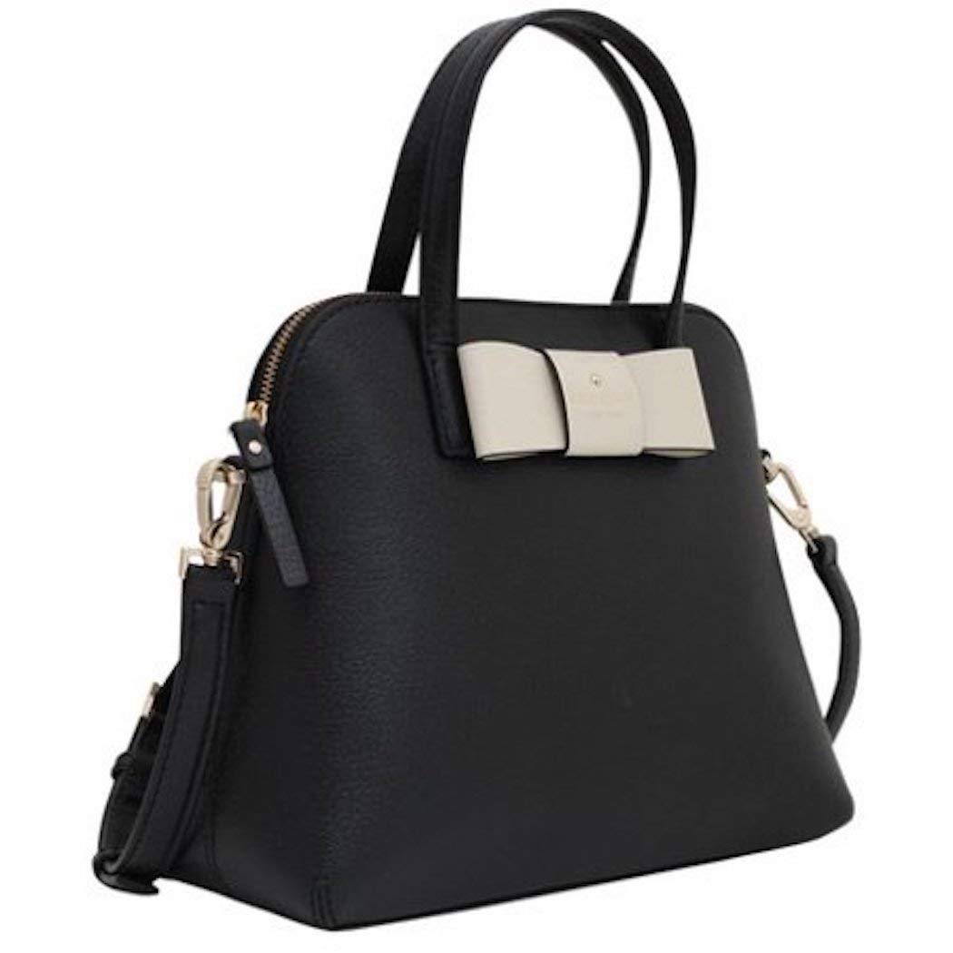 Kate Spade Maise Matthews Street Black Leather Handbag
