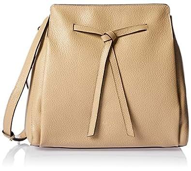 Oroton Women's Avalon Bucket Bag, Fawn, Small
