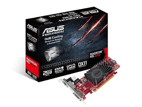 ASUS R5230-SL-2GD3-L - Tarjeta gráfica (Radeon R5 230, 2 GB, GDDR3 ...