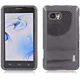 Aimo LGLS860PCIM006 Durable Hard Snap-On Case for LG Mach LS860 - 1 Pack - Retail Packaging - Carbon Fiber
