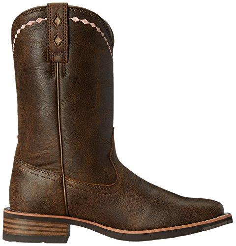 ... Ariat Kvinners Uhemmet Roper Western Cowboy Boot Vintage Bomber