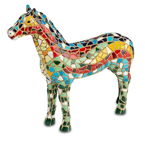 Katerina Prestige Figurine-Horse Mosaic, na0748