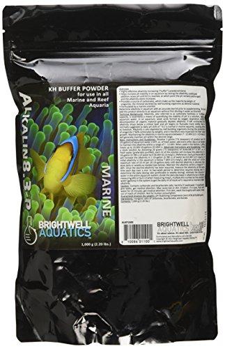 - Brightwell Aquatics Alkalin8.3-P, KH buffer powder for all marine fish & reef aquaria, 2.2 lbs (1kg)