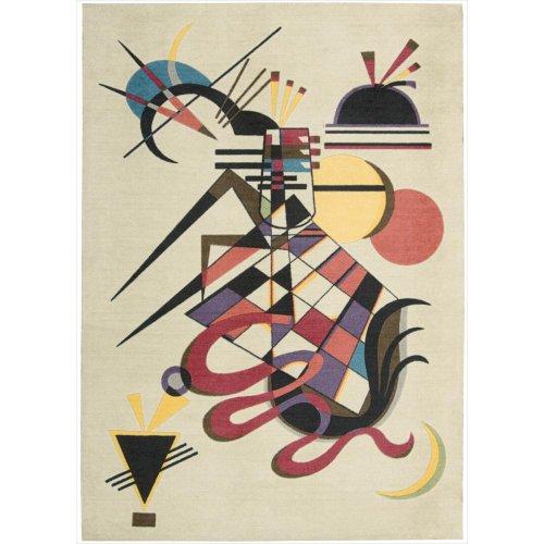 - Nourison Modern Art (MDR06) Balsa Rectangle Area Rug, 4-Feet by 6-Feet  (4' x 6')