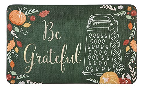Cypress Home Be Grateful Kitchen Mat