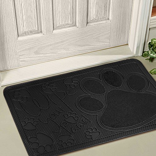FH Group DM015 Wipe Your Paws Pet Lovers Door Mat 16