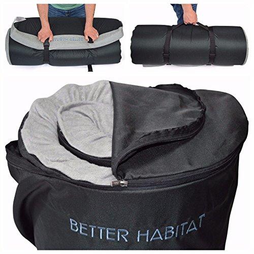 Betterhabitat Sleep Ready Memory Foam Floor Mattress