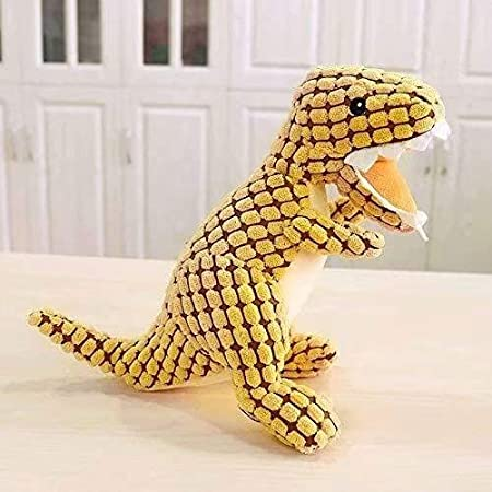 SupplyEU Cute Blown Giraffe Doll Plush Faeces Pets ChewToy Play Cleaning Teeth Sound Chew for Dog Dog Lovers