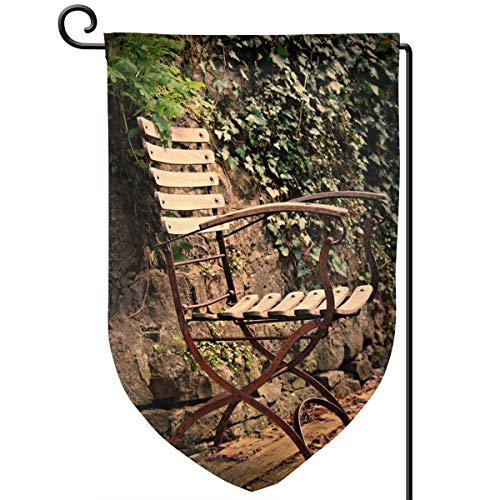WINCR Chair and Ferniture Double Sided Garden Flag Outdoor Flag Yard Decorative Size 12.5