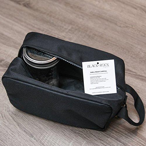 Black Rock Originals Child-Safe Smell Proof Carryall - 100% Carbon Lined - Comes with Combination Lock (Slate) by Black Rock Originals (Image #1)