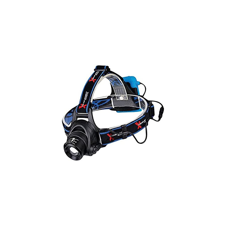 Xtreme Bright Pro Series X55 LED Headlamp Ultimate in camping headlamps & great addition to camping and hiking equipment