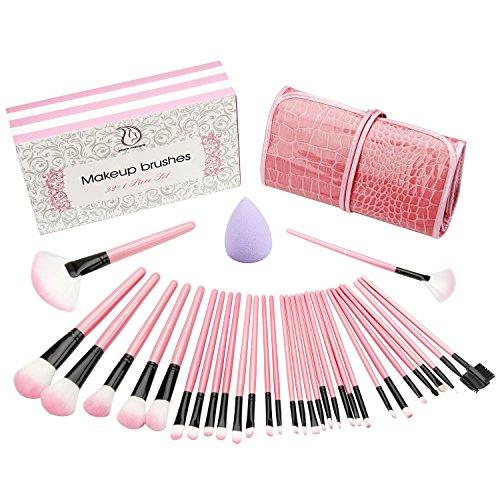32 piece makeup brush set - 9