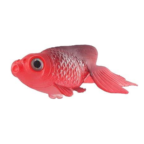 sourcing map Sourcingmap Acuario Inicio Silicona Ventosa Tropical Acuática Flotante Artificial Goldfish