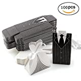 Wedding Drawstring Gift Bags for Jewelry Candy Favor Small Gift Pouch 100pcs
